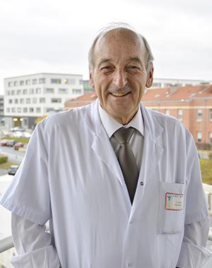 Professeur Chays, ORL et membre de l'Académie Nationale de Médecine